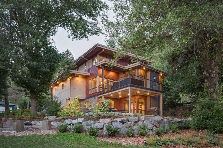 19 best modern home plans images on pinterest modern for Houseplans bhg com