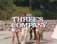 Three's Company is an American sitcom that aired from March 15, 1977, to September 18, 1984, on ABC. It is based on the British sitcom, Man About the House.   The story revolves around three single roommates: Janet Wood, Chrissy Snow and Jack Tripper who all platonically share Apartment 201 in a Santa Monica, California[2] apartment building owned by Mr. and Mrs. Roper. Later, following Suzanne Somers's departure, Jenilee Harrison joined the cast as Cindy Snow (Chrissy's cousin), who was…