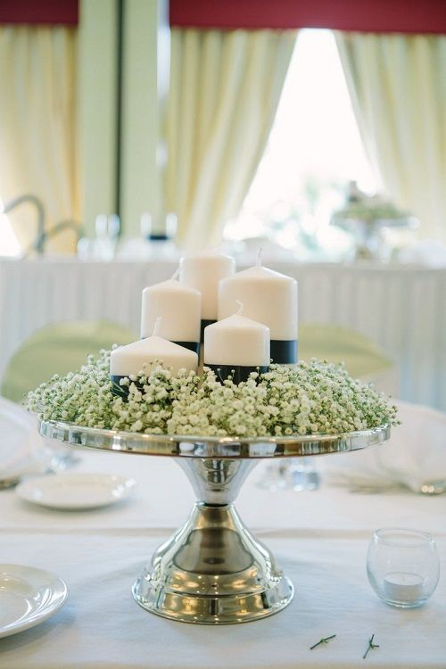 Can use Melinda's Cake plates and  assorted decor