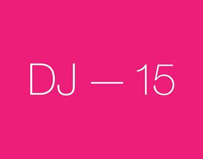 "Check out new work on my @Behance portfolio: ""DJ Logo –– 2015"" http://be.net/gallery/32343527/DJ-Logo-2015"