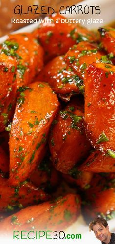 Roasted Glazed Carrots