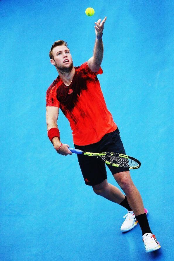 Jack Sock, Auckland 2016 #JackSock #tennis