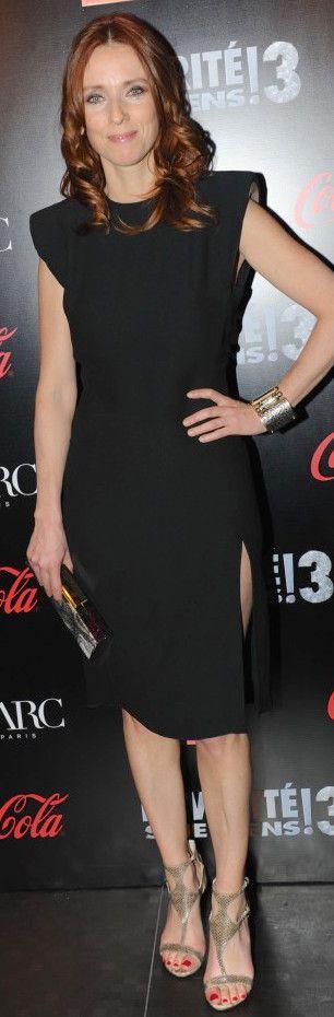 Léa Drucker as Fée Morgane, sister of Dame du Lac - Kaamelott, season 1 & 4