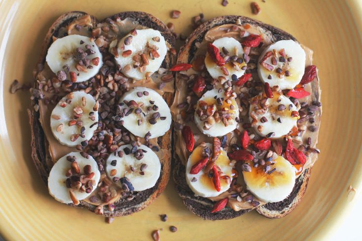 Sweet Superfood Toast - Two City Vegans