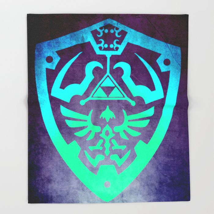 Zelda Shield Throw Blanket   by scardesign. #thelegendofzelda #blanket #dorm #campus #39 #kidsroom #blue #fraternity #family #geek #geekgifts #allthingsgeek #onlineshopping #shopping #gaming #gamer #zelda #39;s #thelegendofzeldablanket #popular #zeldashield #gaminggifts #gamergifts #games #videogames #kids #throwblanket #society6 #newyear #2018  • Also buy this artwork on apparel, stickers, phone cases, and more.