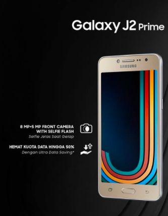 Harga Samsung Galaxy J2 Prime dan Spesifikasi