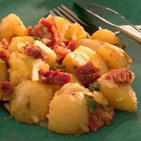 Kartoffelsalat med citron