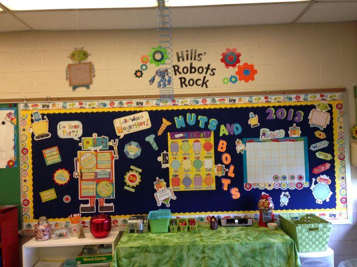 Robot Classroom Decor : Images about classroom decor robots on pinterest