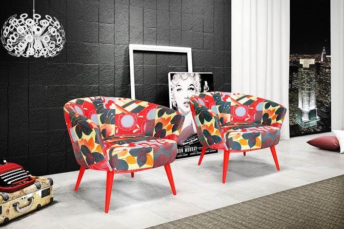 Toda versatilidade do pé palito.   www.encantadahome.com.br  #sofa #decor #pepalito #veludo #abajur #blogencantada #poltronas