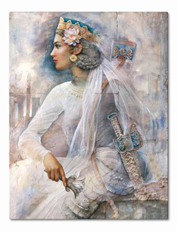 "Pantea Arteshbod was a Persian commander during the reign of Cyrus the Great (559 - 529 B.C.E.). She was the wife of General Aryasb (Achaemenid Arteshbod). Pantea and General Aryasb were the commanders of the elite force of Persian soldiers who performed the dual roles of both Imperial Guard and standing army during the Persian Empire's expansion. The name ""Pantea"" means: ""Strong and immortal."""