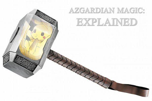 thor-hammer: Free Pikachu, Poor Pikachu, Thor Pikachu, Autism Asperger, Asgardian Magic, Magic Explained, Pikachu Thor, Azgardian Magic, Asperger Geek