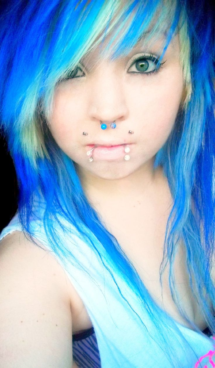 Incredible 1000 Images About Hair On Pinterest My Hair Electric Blue And Short Hairstyles Gunalazisus