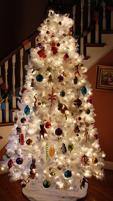 White Christmas Tree From Garden Ridge! I NEED This! It Has Tinsel Mixed In
