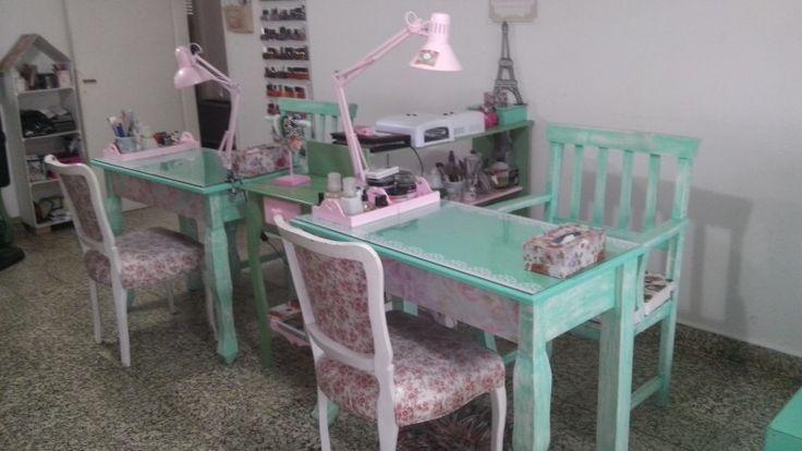 Manicure salon mesa manicuria salon de belleza spa  ideas para el