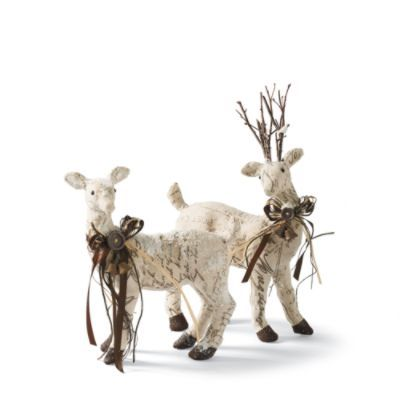 77 best images about christ winter reindeer on pinterest for Christmas deer decorations indoor
