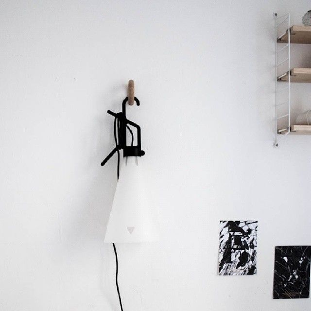 http://instagram.com/vidabarceloni #flos #mayday #maydaylamp #stringpocket #string #playtype