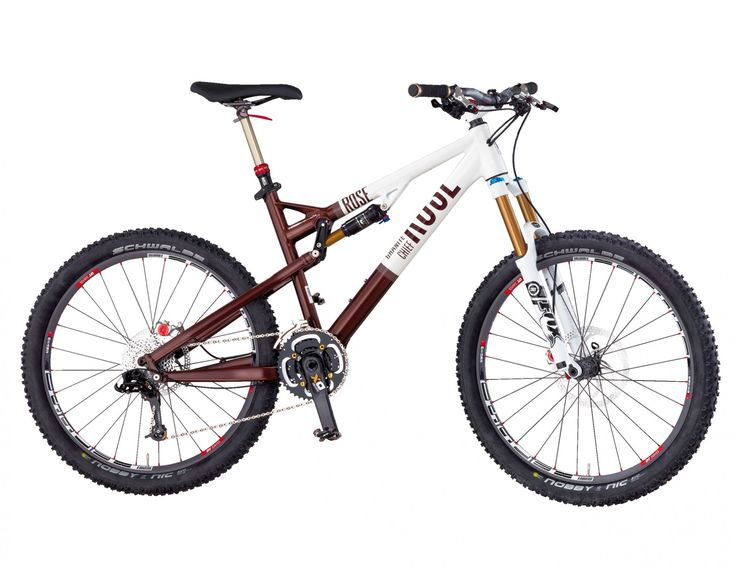 The Rose Granite Chief 8 full-suspension Mountain Bike