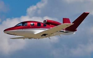The Cirrus Vision SJ50 single-engine personal jet