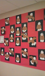 We are learning about the Bald Eagle :)