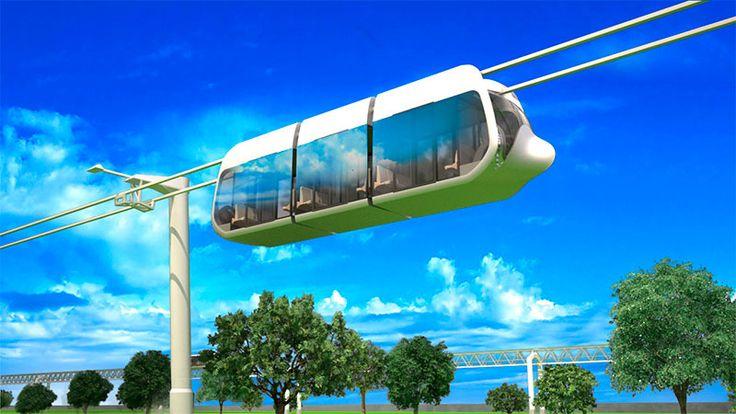 EcoTechnoPark object: suspended urban unibus