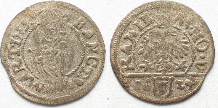 1624 Schweiz - Uri Swiss URI Schilling 1624 ST. MARTIN billon UNC!!! # 95102 UNC