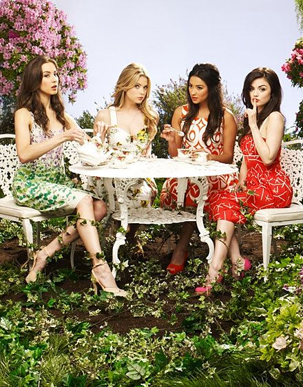 Troian Bellisario, Ashley Benson, Shay Mitchell, & Lucy Hale