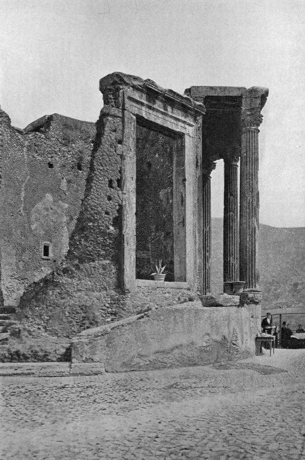 tempio di vesta . tivoli