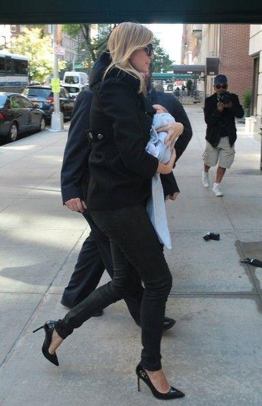 Ivanka Trump - Ivanka Trump Brings Her New Baby Home