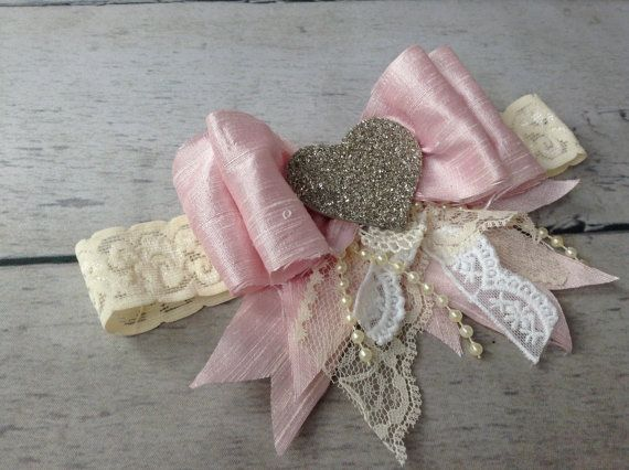 Lovely in Pink headband by CozetteCouture on Etsy, $25.99