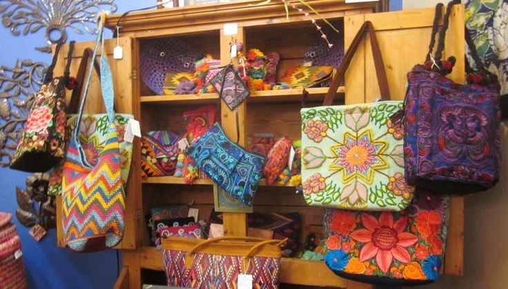 Beautiful & colorful #FairTrade handbags from Jenny Krauss, Lucia's Imports &  Lumilly
