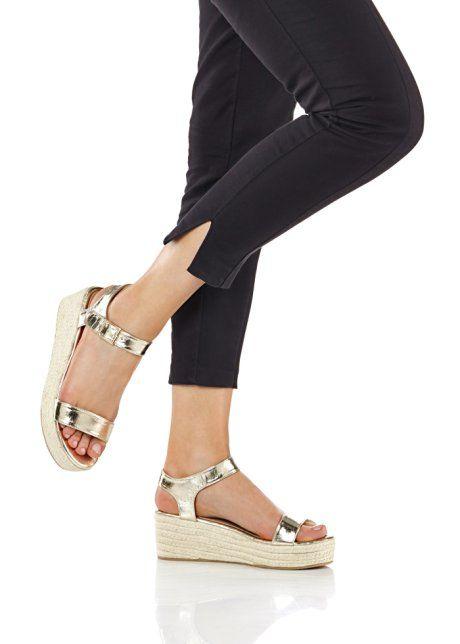 Sandály na klínku, BODYFLIRT