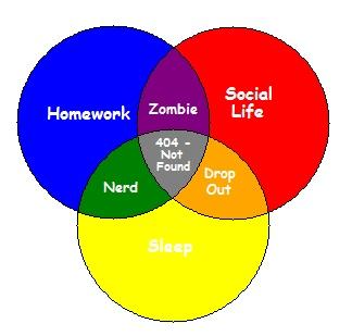 my understanding of college life