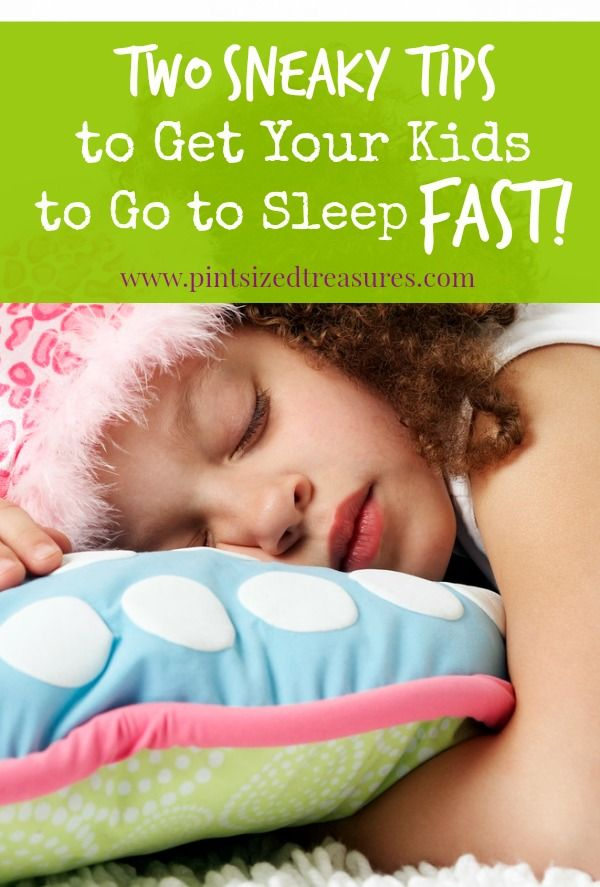 Got a special project to do? Need an at-home date with your spouse? Wan to make an important phone call? Those moments you need your kids to go to sleep fast. Here are two sneaky tips to get it done! #parenting #kidsandsleep #bedtime
