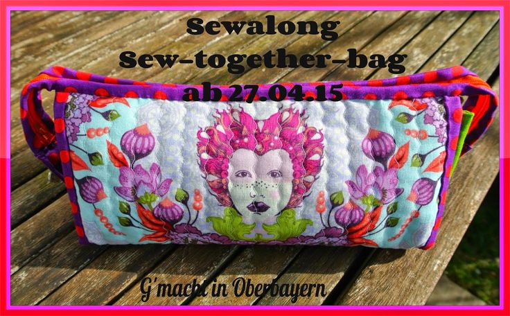"""Sew-Together-Bag von """"Sew Demented"""" - der deutsche Sew-Along mit Linkparty"""