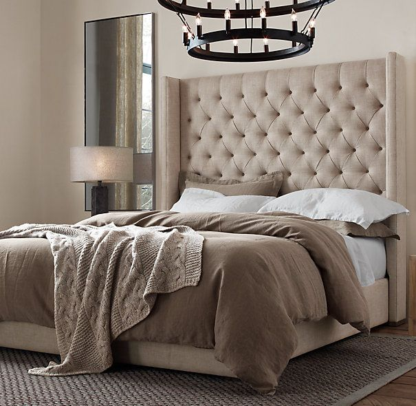 stonewashed belgian linen bedding collection in 2019 12253 | 498e2b9eaebf2df847fe026a10337b1e tufted bed tufted headboards