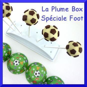 La Plume Box Football: réalisez 12 cake pops ballons de foot