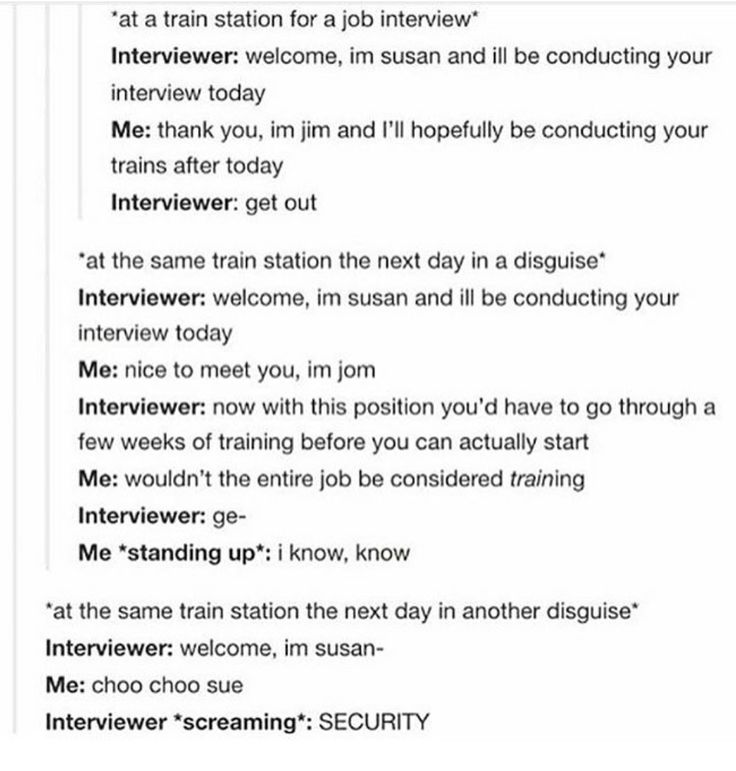 Train conductor interview train station interview job interview Susan jim jom