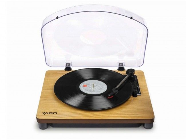 ION Classic LP Wood - Platenspelers - 123platenspeler.nl