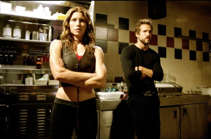 Jessica Biel & Ryan Reynolds from Blade Trinity