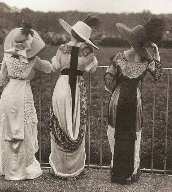 vintage everyday: Typical Fashion Style of Edwardian Era – Vintage Photos of L…