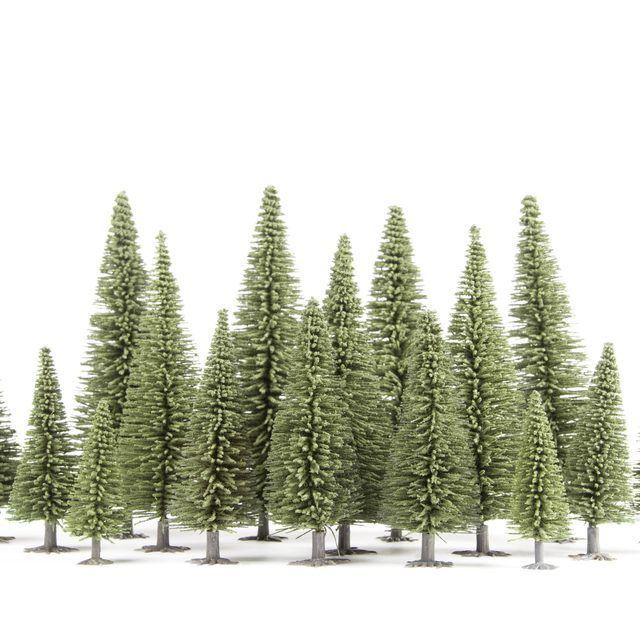 How To Make Fake Trees For Dioramas Diorama Diorama Fake Trees