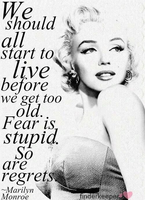 Quote By Marilyn