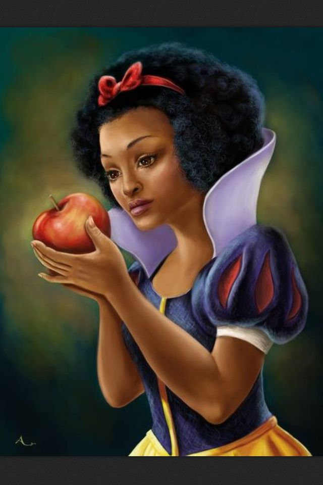 """What if Snow White doesn't have fair skin. What if she's brown - a Jew and not German? What if it's her innocent glow that makes her white... incandescence? What if Father Grimm messed up with time to mess up with history - hid this princess in his lifetime to tell a tale of cruelty. Such macabre! The Grimm Brothers knew her existence. Snow White is more than just a fairytale... she's as real as the air you breathe. I know I don't make sense, just like Britney Spears in """"If You Seek Amy""""."""