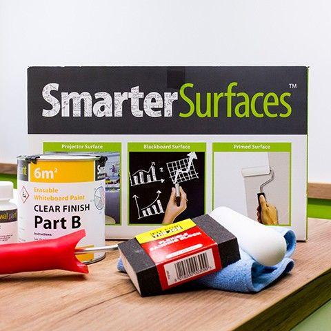 Whiteboard Wandfarbe, Projektor und Magnetfarbe | SmarterSurfaces