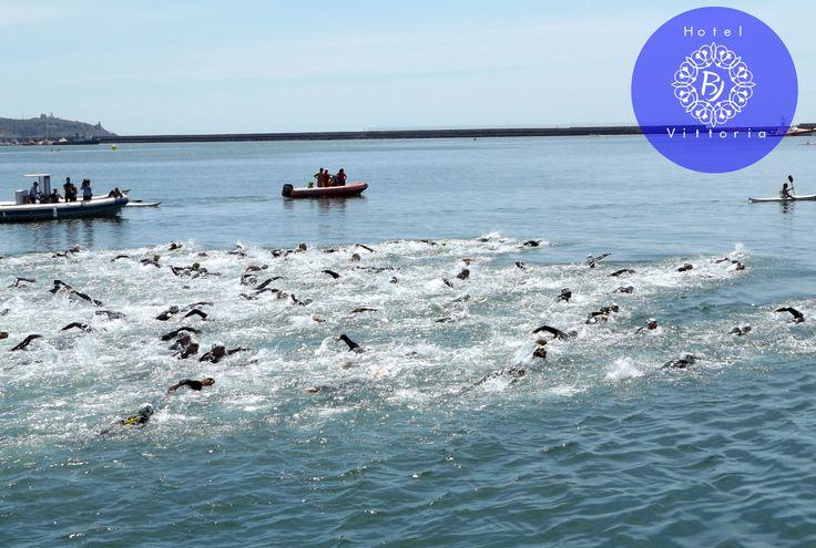 http://www.hotelbjvittoria.it   #sport #nuoto #Cagliari #Sardegna