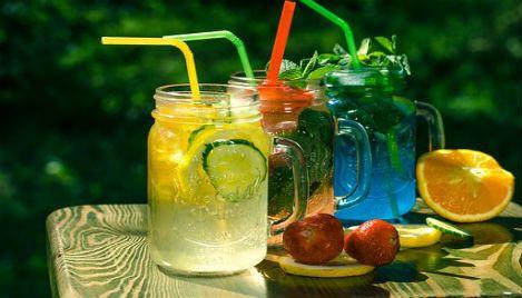 Lemoniada w trzech smakach