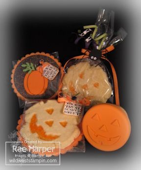 Halloween Cookies for Sweet Pressed Cookie Stamps http://www.stampinup.com/ECWeb/ProductDetails.aspx?productID=125152=60572
