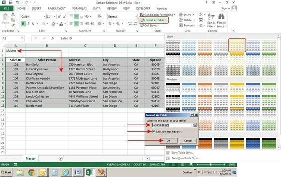 How To Create Relational Databases In Excel Excel Spreadsheets Excel Shortcuts Excel Tutorials