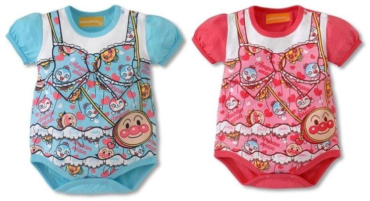 BEST Cute Anpanman Baby Infant Girls Costume Romper Birthday PJ Size 00 0 1 SALE