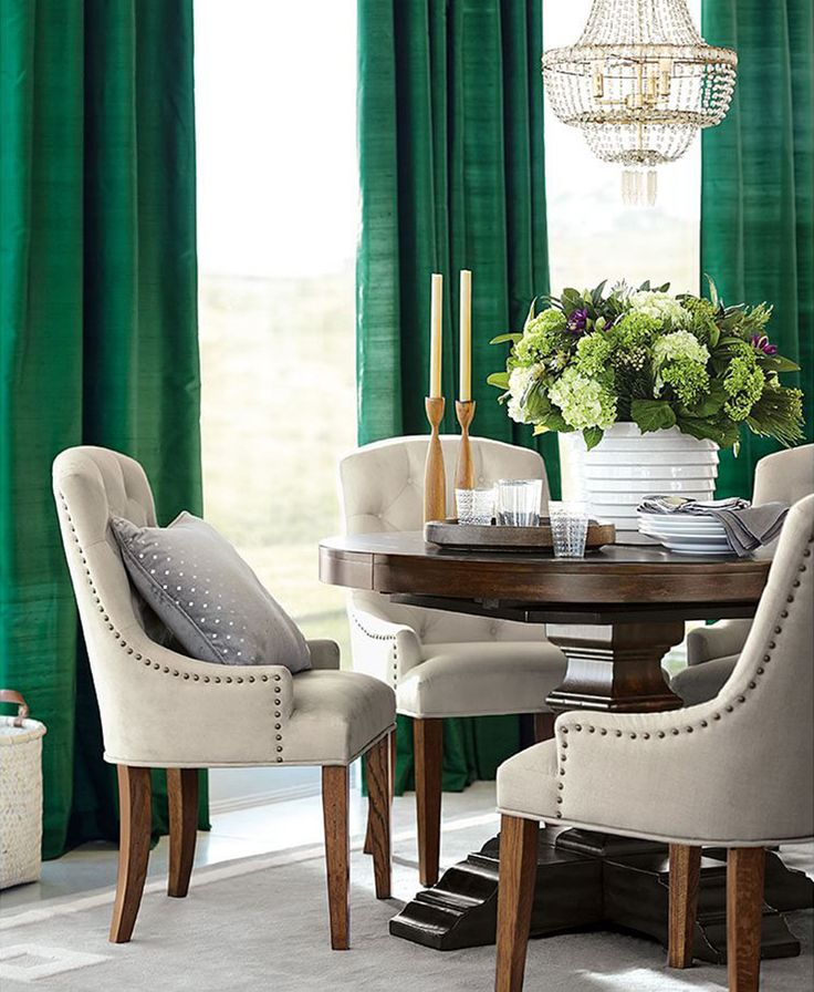 From table top to bedding and decor, we've selected our a few of our favorite green designs that will make your home feel fresh for the season.